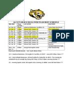 Ah s 2018 Swim Meet Schedule