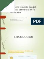 Soria 2015 Impacto y Medición Del Cambio Climático en La Amazonia