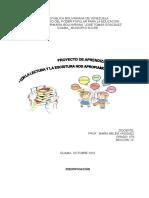 Proyecto de Aprendizaje 4t0 a Los Valores