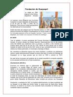 Fundación de Guayaquil 25 de Julio