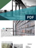 Patologias en La Construccion