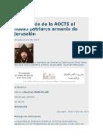 Jerusalén Patriarcado
