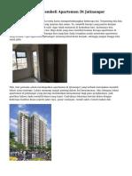 Beragam Teknik Membeli Apartemen Di Jatinangor
