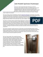 Beraneka ragam Teknik Membeli Apartemen Di Jatinangor