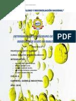 Inf.8-Determinación de Cloruro de Sodio y Benzoato de Sodio en Embutidos