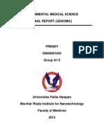 Frendy's Genomic Report