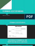 Formas Societarias - Derecho Comercial