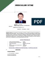 Curriculum Elio Garay Roldan
