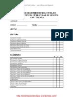 Ficha Seguimiento Del Nivel de cia Curricular de Lengua