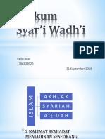 Hukum Syar'i Wadh'i.pptx