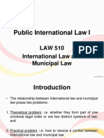 IL vs Municipal Law