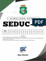 Simulado Completo SEDUC-CE 30-09-2018