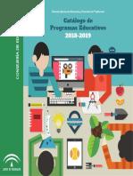 Catalogo de Programas_educativos_2018_2019 Junta de Andalucia