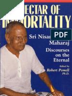 nisargadatta maharaj - ebook - the nectar of immortality (complete)