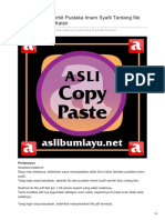 Aslibumiayu.net-Penjelasan Penerbit Pustaka Imam Syafii Tentang File PDF Tafsir Ibnu Katsir