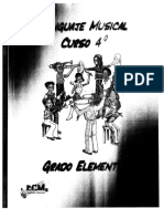 Libro Cuarto Lenguaje Musical Raul Segura
