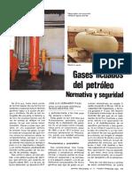 Gases Licuados Del Petroleo Seguridad y Normativa