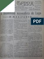 Manifesto Irmandades - A Nosa Terra 05-12-1918