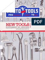 Proto New Tools Supplement PR62120A