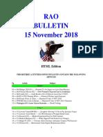 Bulletin 181115 (HTML Edition)