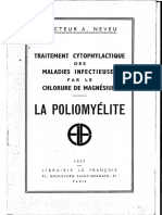 Traitement cytophylactique par chlorure de magnesium - La Polyomyelite  Docteur-A-NEVEU.pdf