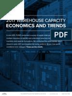 2017 Warehouse Capacity Economics and Trends Report