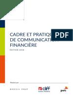 Pwc Cadre Et Pratiques de Communication Financiere Fr