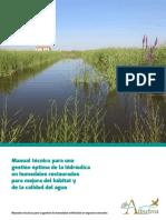 Manual Tecnico Gestion de Humedales Artificiales