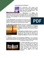 Los 10 Monumentos Más Impresionantes de México