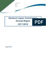 Nunavut Liquor Commission Annual Report 2017-18