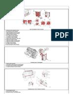 Diagrama de Flujo, Sistema de Aceite Lubricante BUS FOTON