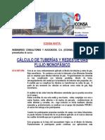 Curso Cálculo de Tuberías y Redes de Gas 2005