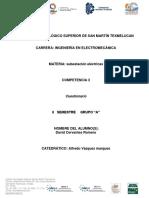 Guía para Examen Subestaciones Eléctricas