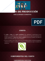 Costos de Producción Macro