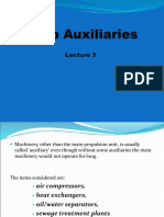 Lecture 5 -Ship Auxiliaries