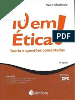 #10 Em Ética (2017) - Paulo Machado