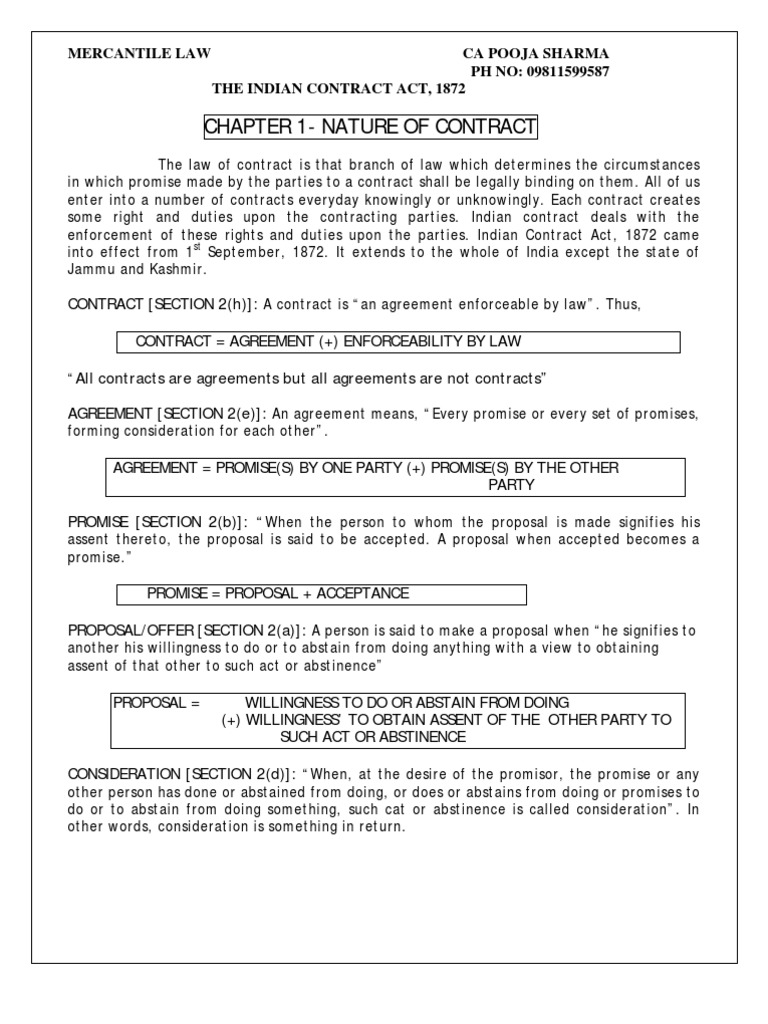 Cpt law 1ture of contracts doctrine rules nature of contracts doctrine rules platinumwayz