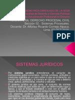 Derecho Procesal Civil - sistemas procesales