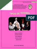 Tipos de Títeres_Didacticadelaliteratura