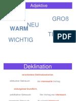 VK-Adjektive +Ü