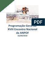 Programação Anpof 2018