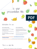 ppt plantilla frutitas
