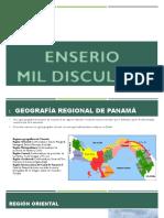 Topicos de Geografia, Historia de Panamá