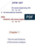 Ch 1 the Art and Science economic