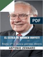 Warren Buffett Style_ Regla nde - Antonio Zennaro.pdf