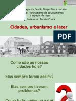 cidades urbanismo e lazer