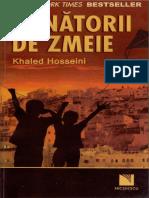 Khaled Hosseini-Vanatorii de Zmeie