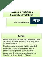 (2013!04!14) - Emma de Sosa - Adoración Profética y Ambientes Proféticos