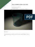 Tutorial - Modelagem de um Copo no 3DSMAX