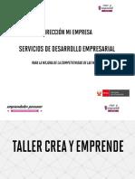 Taller Crea y Emprende - Sesión 3